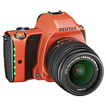 Pentax K-S1 Orange + Objectif DAL 18-55 mm