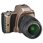 Pentax K-S1 Marron Métallisé + Objectif DAL 18-55 mm