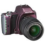 Pentax K-S1 Prune + Objectif DAL 18-55 mm
