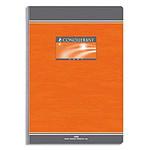 Conquérant Cuaderno Seven Booklet 192 páginas 21 x 29,7 cm grande azulejos Seyès colores aleatorios