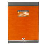 Conquérant Sept Cahier brochure 96 pages 24 x 32 cm grands carreaux Seyès coloris aléatoires