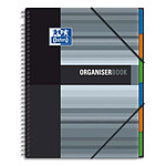 Oxford OrganiserBook Cahier A4+ 160 pages 245 x 310 mm petits carreaux 5 x 5 mm