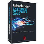 Bitdefender Internet Security  2015 - Licence 1 an 10 postes