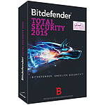 Bitdefender Total Security Multi-Device 2015 - Licence 1 an 10 postes