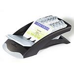 Durable Visilfix Desk fichier pour cartes de visite Noir
