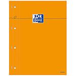 Oxford Bloc Bureau perforé 23 x 29.7 cm 160 pages grands carreaux Seyès