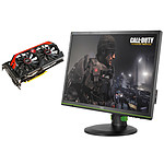 "AOC 24"" LED - g2460Pg - G-Sync + carte graphique MSI GeForce GTX 760 Twin Frozr GAMING 2GB"