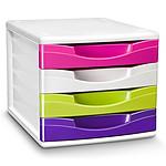 CEP CEPBox Gloss Bloc 4 tiroirs Multicolore 894 GM