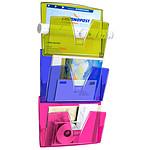 CEP Cesto de pared Happy de 3 compartimentos blanco/multicolor
