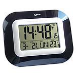 Orium Horloge digitale radio contrôlée noire laquée