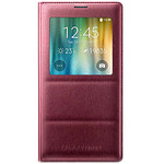 Samsung S-View Rouge pour Galaxy Note 4