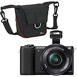Sony Alpha 5100 + Objectif 16-50 mm Noir + Lowepro Compact Courier 80 Noir