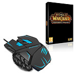 Mad Catz M.M.O. TE Black + World of Warcraft : Warlords of Draenor (PC)