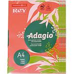 Adagio Lot de 5 ramettes de papier 500 feuilles A4 80g coloris Grenadine