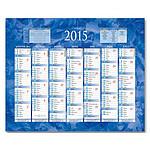 Calendrier de banque 2015 - 2 faces (21 x 26.5 cm)