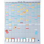 Nobo Kit de planificación anual 13 columnas 54 espacios