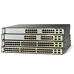 Cisco Catalyst 3750 v2 48 x 10/100 PoE + 4 SFP Gigabit Ethernet - 3750V2-48PS