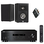 Yamaha A-S201 Noir + JBL Studio 220 Noir + Focal Universal Wireless Receiver