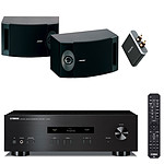 Yamaha A-S201 Noir + Bose 201V Noir + Focal Universal Wireless Receiver