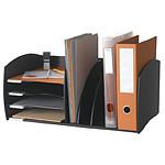 Organizador de escritorio Paperflow 4 cajas negras
