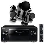Pioneer SC-LX58K Noir + Focal Dôme Pack 5.1 Diamond Black