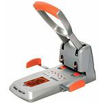 Rapid Duax HDC150 perforateur 2 trous pour 150 feuilles Argent/Orange