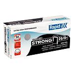 Rapid Grapas 26/8+ caja de 5000 grapas SuperStrong