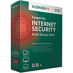 Kaspersky Internet Security Multi-device 2015 (français, WINDOWS, Mac, Windows Phone, Android, iOS)