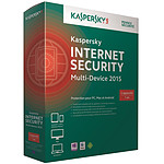 Kaspersky Internet Security Multi-device 2015 - 5 appareils 1 an (français, WINDOWS, Mac, Windows Phone, Android, iOS)
