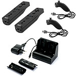 Under Control Wii/Wii U Starter Kit (coloris noir)