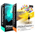 Pack Cyberlink PhotoDirector 6 et PowerDirector 12 Ultra