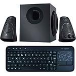 Logitech Speaker Z623 + K400