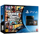 Sony PlayStation 4 (500 Go) + Grand Theft Auto V (GTA 5)
