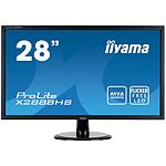 "iiyama 28"" LED - ProLite X2888HS-B1"