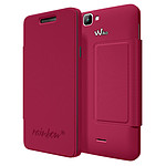 Wiko Etui Cover Back Folio Fuchsia Wiko Rainbow 4G