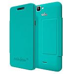 Wiko Etui Cover Back Folio Turquoise Wiko Rainbow 4G