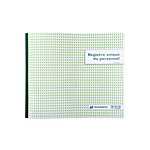 Exacompta Registre Unique du Personnel 40 pages