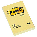 Post-it Bloc 100 feuillets 51 x 76 mm Jaune
