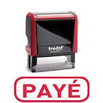 """Trodat Xprint Sello """"PAYE"""" Rojo"""