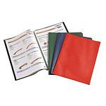 Elba Protège-documents A4 100 vues Rouge