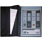 Elba protège-documents Lutin A4 100 vues, 50 pochettes Noir