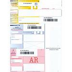 Imprimé A4 pour envoi recommandé AR par 150