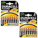 Duracell Plus Power AAA (16 unidades)
