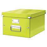 Leitz Caja de almacenamiento mediano Click & Store de 16,7 litros Verde