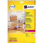 Avery Etui de 320 étiquettes d'expéditions 99.1 x 67.7 mm pour imprimante laser