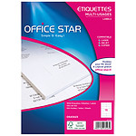 Office Star Etiquettes 105 x 35 mm x 1600