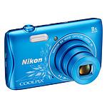 Nikon Coolpix S3700 Bleu Line Art