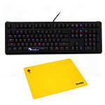 Ducky Channel Shine 4 (MX Brown) + Oh My God Mousepad OFFERT !