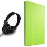 Case Logic Folio SnapView 2.0 pour iPad Air 2 (vert) + casque OFFERT !