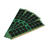 Kingston ValueRAM 64 Go (4 x 16 Go) DDR4 2400 MHz CL17 ECC Registered SR X4